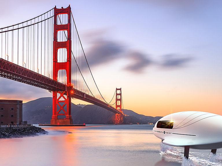 BubbleFly - San Francisco