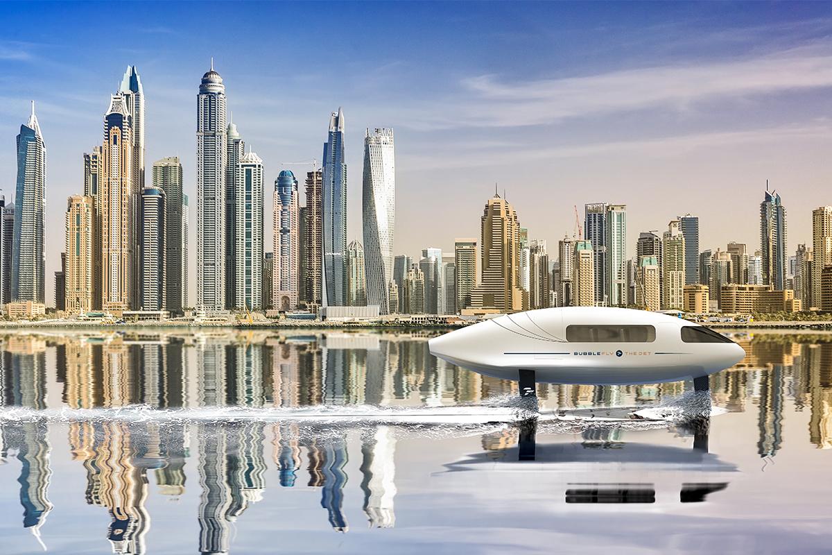 BubbleFly - Dubaï