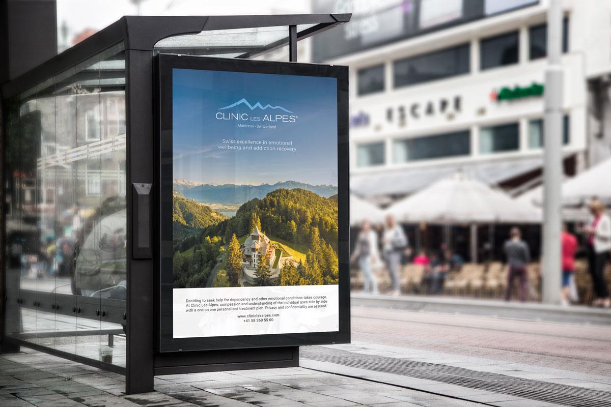 Publicité - Clinic Les Alpes
