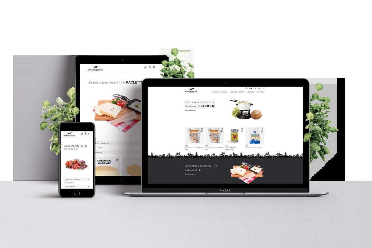 Ma Fondue - Site Internet